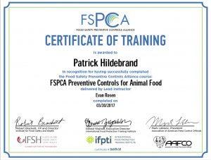 Pat Hildebrand FSPCA