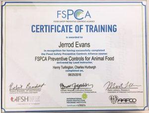 FSMA Compliance - FSCPA Certified